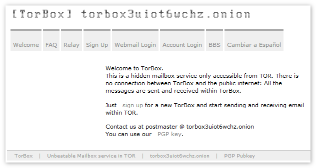TorBox Tor Browser