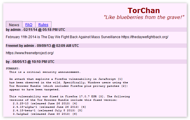 TorChan Tor Browser